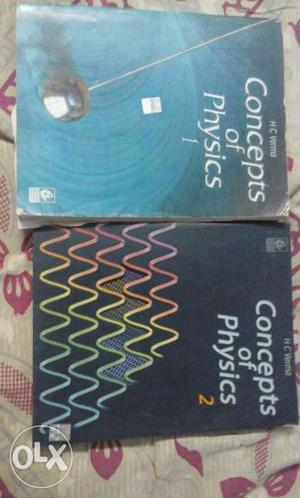 Physics's HC Verma part 1&2 in good condition