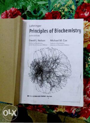 Principles Of Biochemistry Book