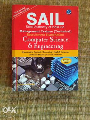 Sail Management Trainee Technical Exam Book For Recruiting