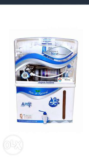 White And Blue Apple Water Purifier