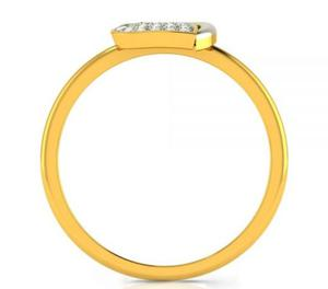 Be in the Limelight by wearing this Heartbeats Engagement ri