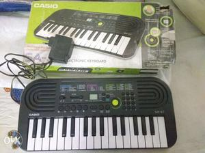 Casio keyboard -SA 47. Very less used, Ideal for