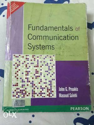 Fundamentals of communication systems by Proakis