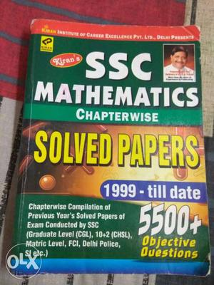 SSC Mathematics Solved papers.