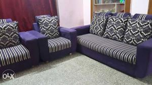 3 + 2 Sofa set in good condition for sale.