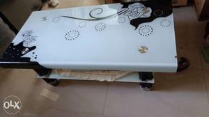 Centre table 1 year old price is negotiable