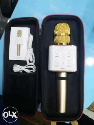 Gold Wireless Microphone