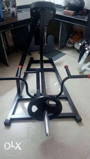Incline Tbar,black color 1 year use,