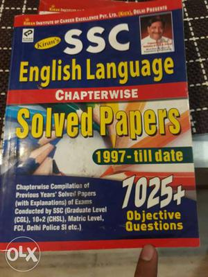 SSC English Language Solved Papers - Till Date