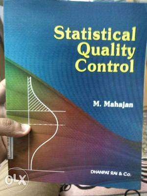 A book of Statistical Quality Control by M.mahajan