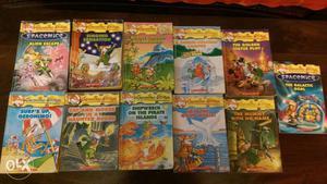 Children books Geronimo Stilton series for Rs 100 each
