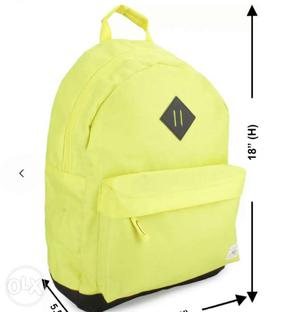 Ucb backpack brand new mrp . not used one(