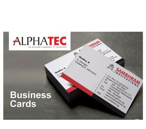 Alphatec IT Solutions - Business Cards Kozhikode