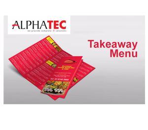 Alphatec IT Solutions - Takeaway Menu Kozhikode