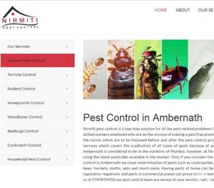 Pest Control Service In Ambernath Thane