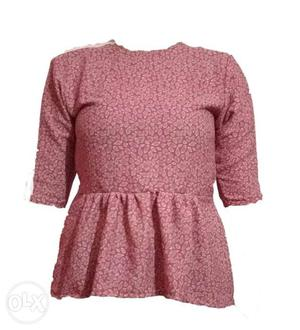 Buy all new Tops for women wear and We take