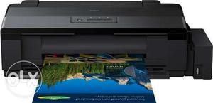 Epson L printer with sublimation heat press