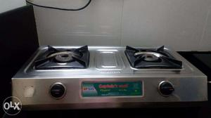 Excellent condition Stainless Steel Gas Stove - 2 Burners
