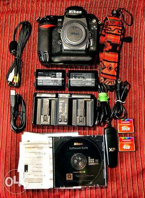 Nikon D3 Full Frame (FX) Digital SLR (MRP ) shutter