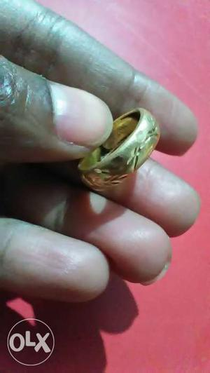 Gold ring with KDM Weight 2 grams