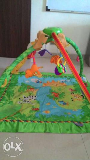 Fisher Price rainforest play gym for babies