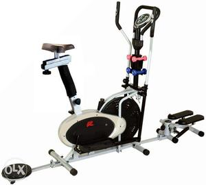 Home use elliptical orbitrek gym exercise machinery