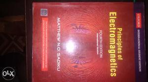 Principles of Electromagnetic by Sadiku