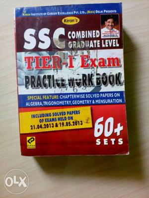 SSC cgl practice work book.