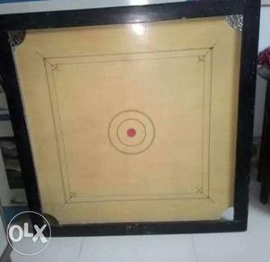 Two and half ft Carom Board in good condition.