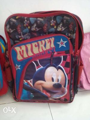 Assorted 5 different kids back packs. Buy individual