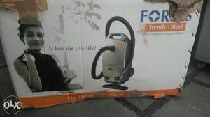 Black And Gray Vacuum Cleaner