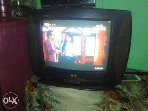 Black Lg Crt Tv
