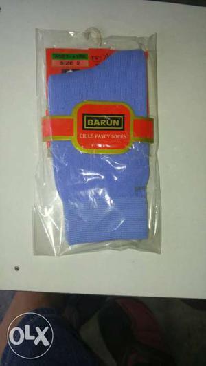 Branded company barun sky colour socks for 3 to 6