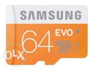 I want to my 64 gb memory card at 999.its brand
