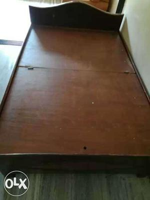 It's a box type Diwan bed in a good condition