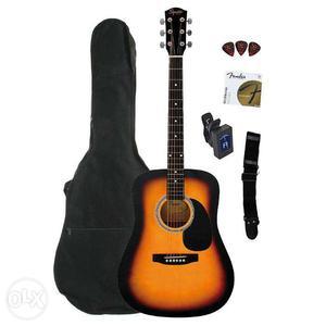 New Fender Squier SA 105 acoustic guitar