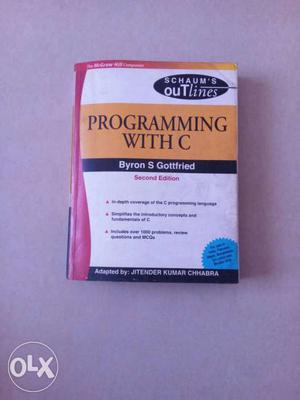 Schaum's Outlines Programming With C Book