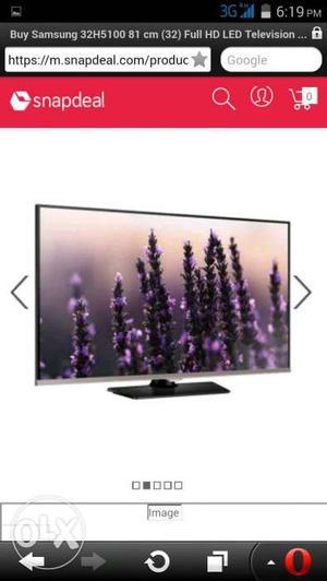 Samsung 32h led tv good condition