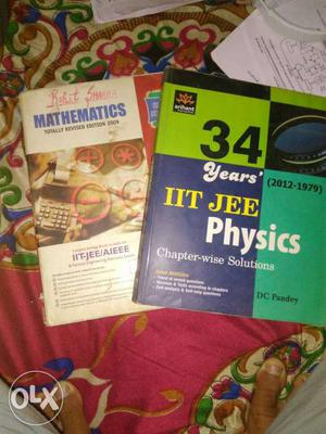 Book for IIT jee mathematics arihant and physics