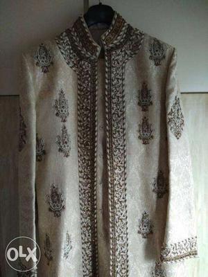 Brand new designer wedding sherwani for Sale/Rent- Size 42