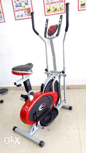 Brand new elliptical crosstrainer fitness cycles available
