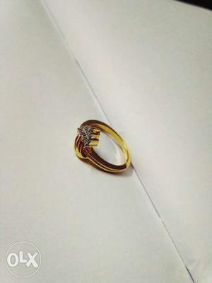 Brand new golden ring in very low price...just