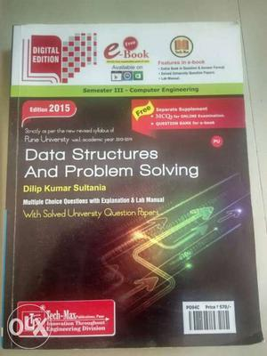 Data Structures and problem solving - Dilip kumar
