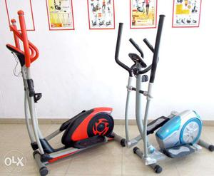 Less used gym fitness cycles for home use available in good