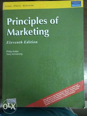 Principles Of Marketing Book