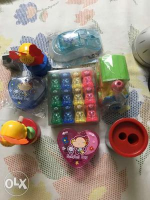 Wide variety of amazing sharpeners for kids.. if