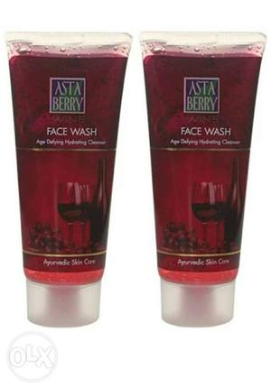 Wine face wash(pack of g each Experience