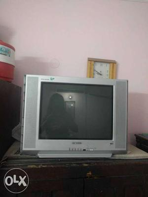 21 inches Samsung colour television with remote.