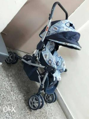 Baby's Blue And Black Stroller Screenshot