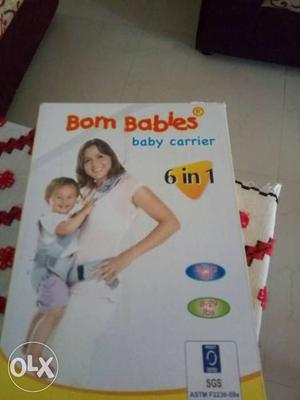 Born Babbies Brand Baby Carrier 6 In 1 Box